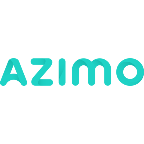 Azimo logo artwork colour