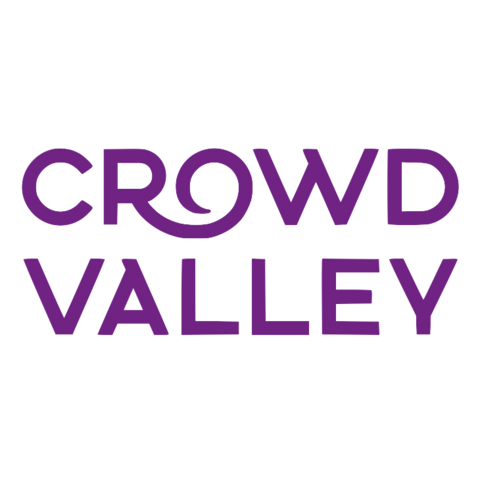 Crowdvalley logo transparent